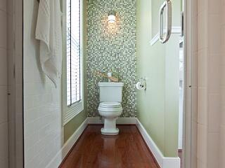 Diy Bathroom Accent Wall Ideas