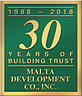 30 Years of Building Trust Seal
