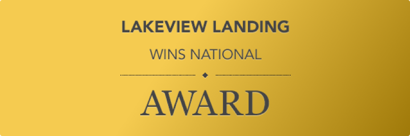 Lakeview Landing Wins National Award